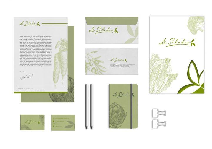 Lê Salades – Embalagens e papelaria