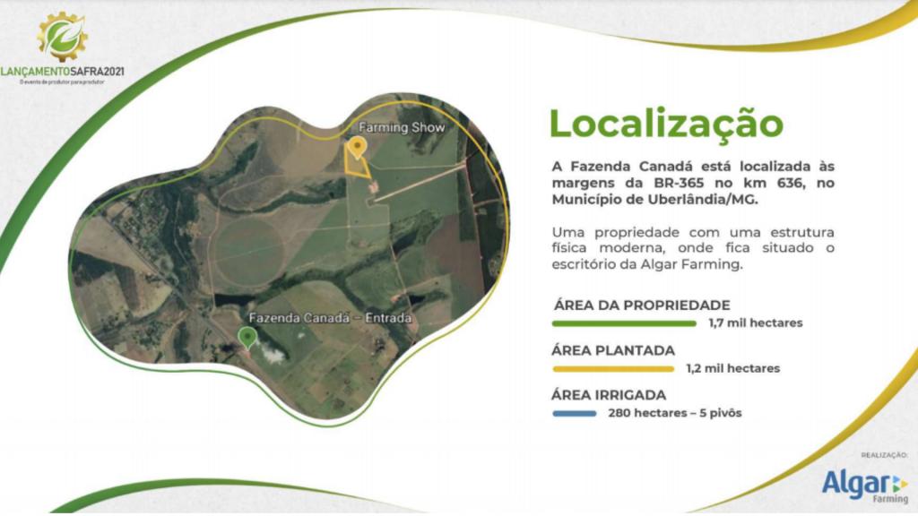 localização farming show